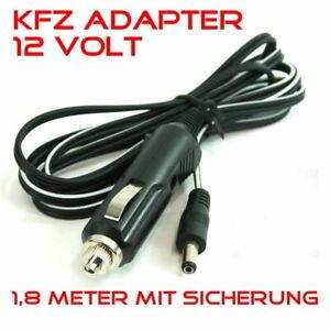 KFZ-Adapter 12V DC Zigarettenanzünder-Kabel für 12 Volt TV-Geräte