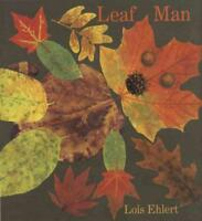 LEAF MAN - EHLERT, LOIS - NEW HARDCOVER BOOK