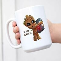 Funny Mugs I'm Groot Coffee Mug Coffee Mug Tea Cup White