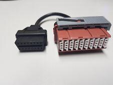 OBD1 30 PIN OBD2 16 PIN Peugeot Citroen Diagnose Kabel Stecker Adapter PSA #0B11