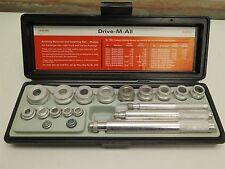 VTG NOS K-D Tools Drive-M-All Heavy Duty Bushing Remover Installer Set 3142 USA