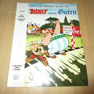 Asterix und die Goten, 1. Auflage von 1970, Nr. 7 in gutem bis mittlerem Zustand