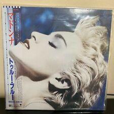 Madonna True Blue Japanese Edition Poster Vinyl