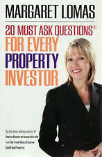 20 Must Ask Questions for Everyday Property Investor Margaret Lomas 2008 BOOK