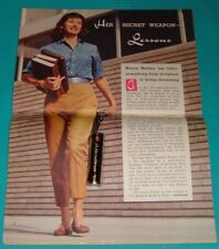 1959 TV ARTICLE~ACTRESS NANCY HADLEY~DAUGHTER OF CALIFORNIA DRIED FRUIT KING