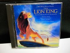Walt Disney The Lion King  Motion Picture Soundtrack CD Elton John