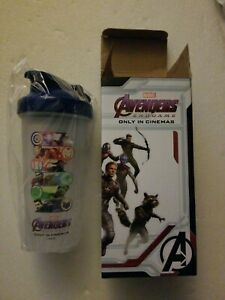 NIB Marvel Comics Avengers Endgame boxed Only In Cinemas Promotional Shaker Cup