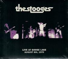 THE STOOGES - LIVE AT GOOSE LAKE 1970 THE FUN HOUSE TOUR SEALED GFC MINI-JKT CD