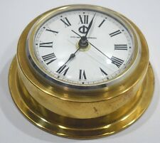 Marine clock sud west terminal brass roman vintage wall mount clock