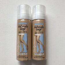 Sealed Sally Hansen Spray On Airbrush Legs Fairest Glow 1.5 Oz Includes 2