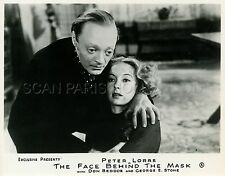 PETER LORRE EVELYN KEYES THE FACE BEHIND THE MASK 1941 VINTAGE PHOTO ORIGINAL #2
