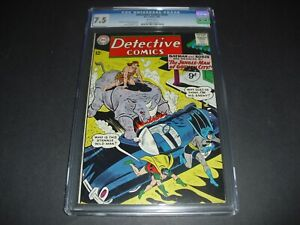 Detective Comics #315 CGC 7.5 w/ WHITE PAGES from 1963! DC Comics not CBCS