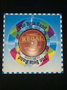 """THE BETA BAND - OUT-SIDE (7"""" VINYL) REG 110"""