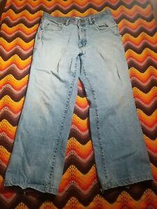 Pierre Cardin Paris Jeans 38x30 Distressed Faded Grunge 80s 90s Vintage