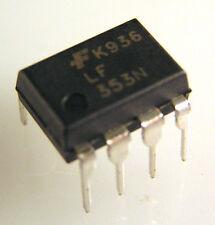 Fairchild LF353N Dual Operational Amplifier (JFET) 8 Pin DIP OM8U 1 piece