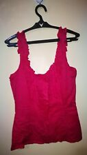 SUPRE HOT PINK SUMMER TOP TAG SIZE M
