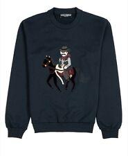 Sweatshirt dolce gabbana a détail patch cow boy au lieu de 645euros neuf