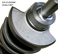 "SGI Cast Nodular Crankshaft, SB Ford 351W 3.850"" Stroke with 2.100"" Rod Journal"