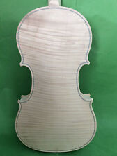 White violin 4/4 flamed maple one piece flamed maple back  Guarneri model 1741