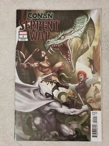 Conan Serpent War #1 1:50 InHyuk Lee Variant 2019 Moon Knight lots of pics NM