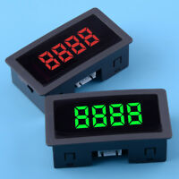 Car Auto 4 Digital Motor LED Tachometer RPM Speed Measure Gauge Meter 0-9999
