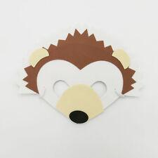 Hedgehog Wild Farm Animal Jungle Safari Foam Mask Fancy Dress School Party New