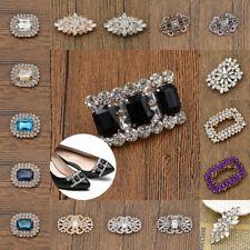 Crystal Shoe Clip Charm Buckle Bridal Shoes Decor Rhinestone Removable