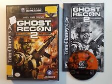 Tom Clancy's Ghost Recon 2 (Nintendo GameCube) CIB COMPLETE FAST FREE SHIPPING!!