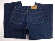 Anchor Blue Huge Mens Dark Wash Wide Leg Rave Skate 90s Jeans 32x30 (32x31)