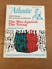 The Atlantic October 1968 The War Against the Young