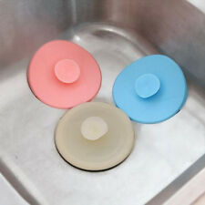 Universal Kitchen Bathroom SINK PLUGS Stopper Rubber Basin Bath Bathtub Random