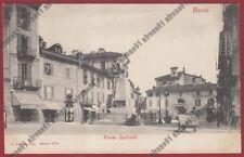 MONZA CITTÀ 67 OSTERIA GARIBALDI - PIE CASE DI RICOVERO Cartolina  primi '900