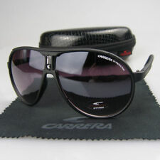 Fashion Men Womens Retro Sunglasses Unisex Sport Matte Black Carrera Glasses C-1