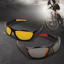 Day Night Vision Driving Glasses Sports HD Aviator Sunglasses New UV400 Eyewear