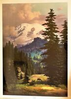 Dalhart Windberg Quiet Grandeur Print 1981 Special Edition Artist Signed.