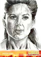 CSI Miami Series 2 Sketch Card drawn by Chris Henderson