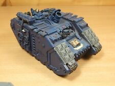 METAL AND PLASTIC WARHAMMER SPACE MARINE CRIMSON FISTS LAND RAIDER PAINTED (L)