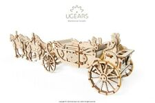 UGears Royal Wedding Carriage Mechanical Laser Cut Wooden Model Kit 70050