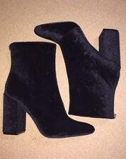 New Jessica Simpson black suede floral booties, size10