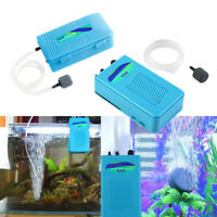 Quiet Aquarium Battery Backup Operated Air Pump Aerator Oxygen Pump Air Stone