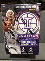 2019-20 PANINI ILLUSIONS NBA BASKETBALL BLASTER BOX SEALED ZION MORANT PRIZM