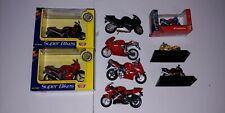 Motor Max Super Bikes 1:16 Motorcycle Kawasaki Honda Ducati + 1:32 Lot Suzuki