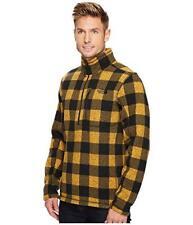 THE NORTH FACE Arrowwood Yellow Grizzly Gordon Lyons 1/2 Zip Fleece Jacket  2XL