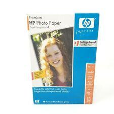 "HP Premium Photo Paper Glossy 4x6"" 100 Sheets Q1990A SEALED"