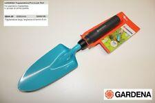 Gardena 8934-20 Paletta Trapiantatore Forca per Fiori e piante larghezza 8 cm