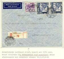 NED INDIE LP  1937-3-10   PERBAOENGAN   NAAR HOLLAND   VW PR