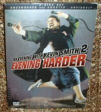 AN EVENING WITH KEVIN SMITH 2 EVENING HARDER 2-DISC DVD SET, NEW AND SEALED,