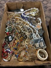 Large vintage estate costume jewelry lot!! NR