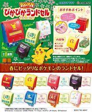 Re-Ment Miniature PokeMon Pikachu School Bag Full Set of 8 pcs