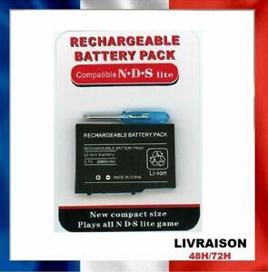 Batterie pour Nintendo DS Lite, 2000 mah avec tournevis Battery NDS 2000 mah